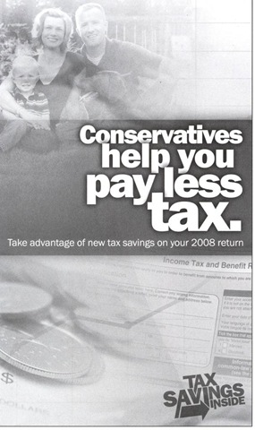 Conservative tax propaganda